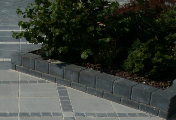 Kantblokke sort | Møbler til terrassen og haven